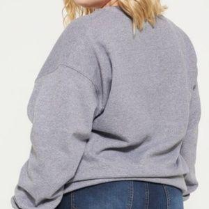 Popular Girl Tops - Gray Christmas is my favorite sweatshirt